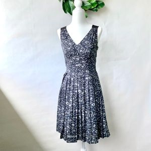 NWT Marc by Marc Jacobs Cas Print Pleated Dress